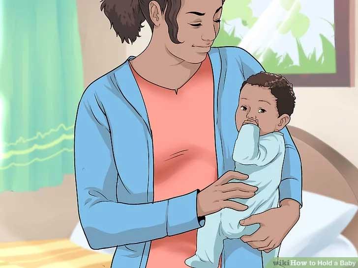 Bære baby på hoften